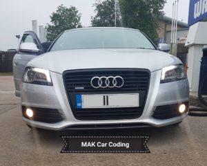 Audi A3 Saloon - MAK Coding