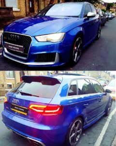 Audi RS3 Coded 😍