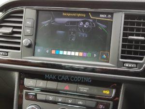 Seat Leon MK3 FL – Ambient Colours