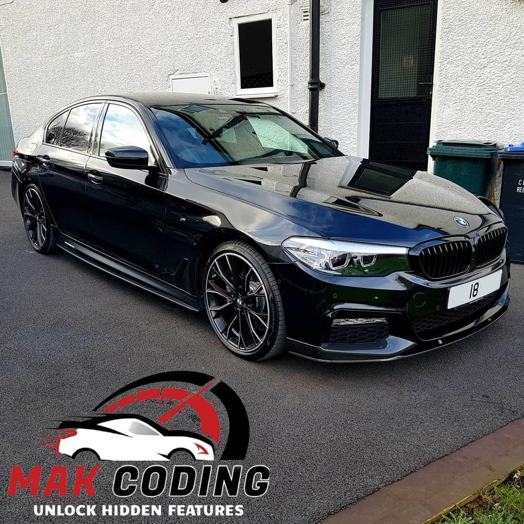 Bmw 520d: 2018 BMW 520D G30 Coded