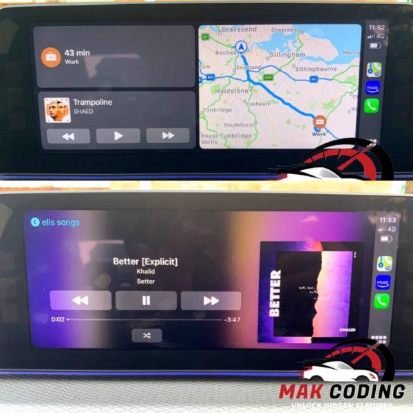 BMW iOS 13 Fullscreen Carplay