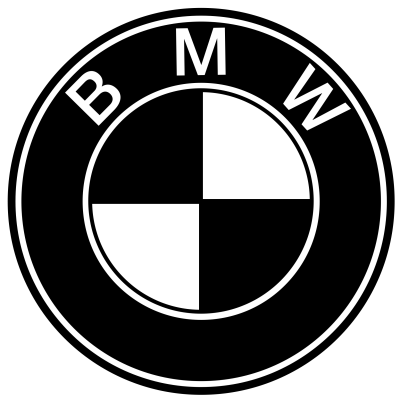 bmw logo bw