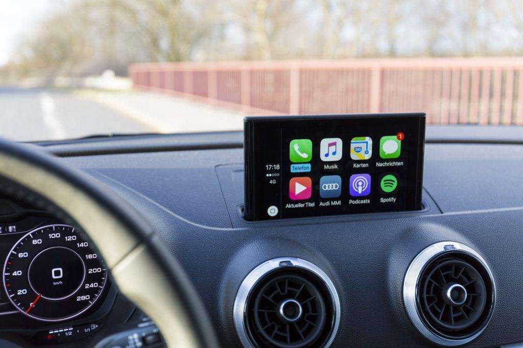 Audi A3 8V Wireless Apple CarPlay Retrofit Kit - MMI 3G/3G Plus