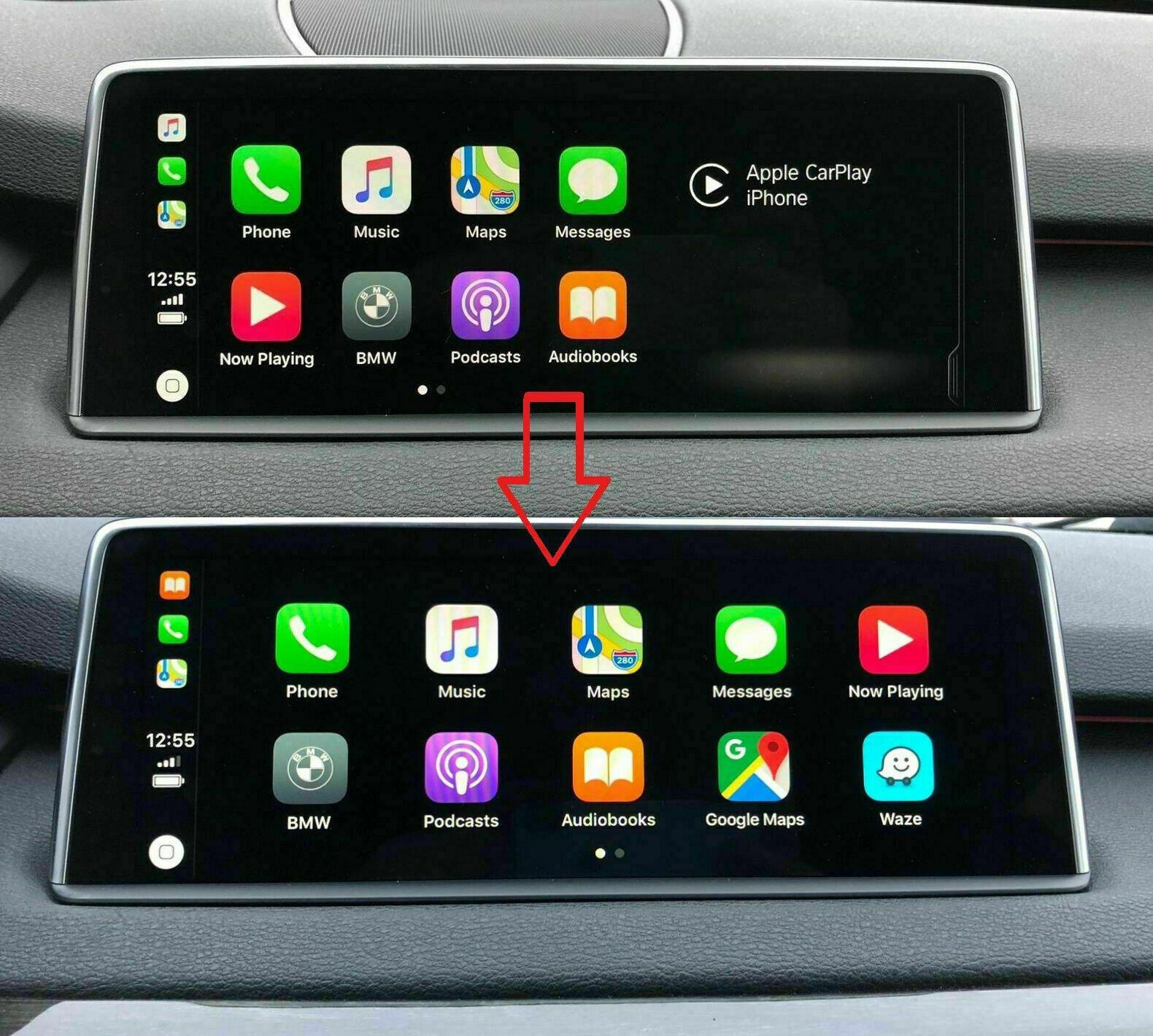BMW NBTEVO iDrive 5/6 Apple CarPlay Lifetime Activation Coding