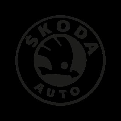 skoda logo bw