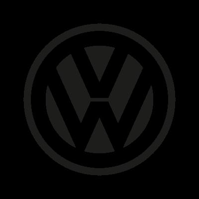 vw logo bw