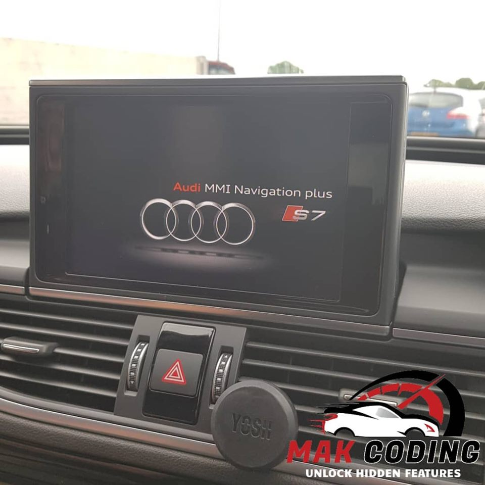 Audi A7 coded with our famous All Unlock Package - MAK Coding