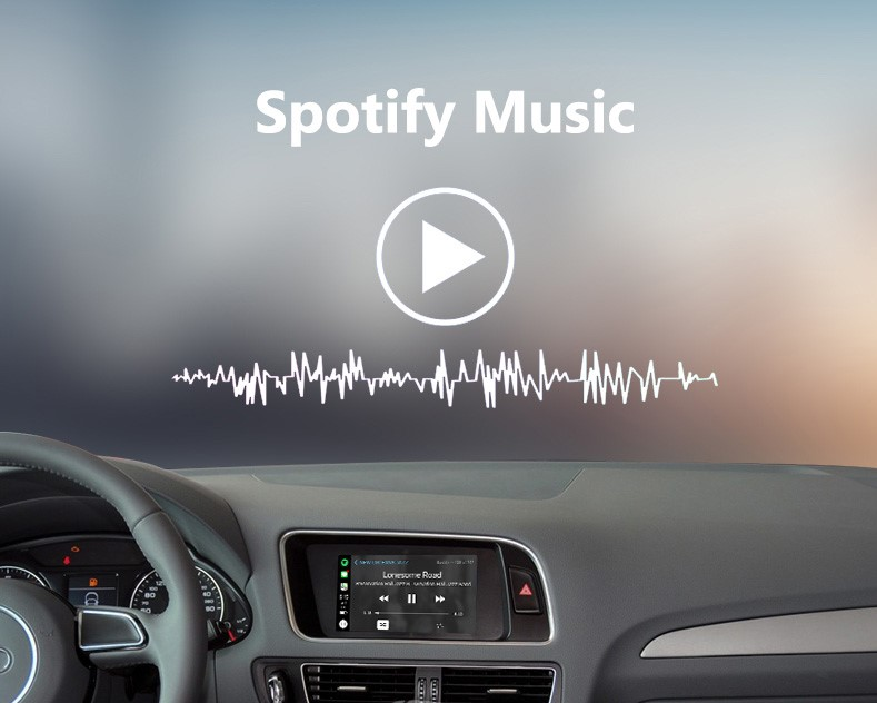 Audi Concert/Symphony Wireless Apple CarPlay Retrofit Kit - A4, A5, Q5 B8