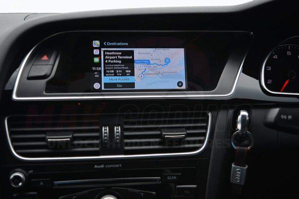 Wireless Apple CarPlay Interface Kit Audi MMI 2G High - Audi A4, A5, A6,  Q7, A8