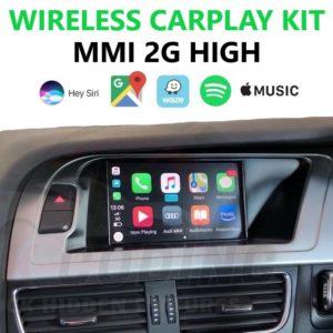 Audi MMI 2G High Carplay / Android Auto Retrofit Kit – A4, A5, A6, A8, Q7 (2004 – 2010)