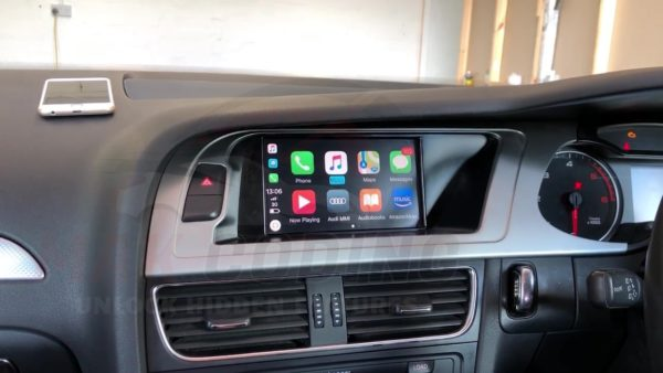 Wireless Apple CarPlay Interface Kit Audi MMI 2G High - Audi A4, A5, A6,  Q7, A8