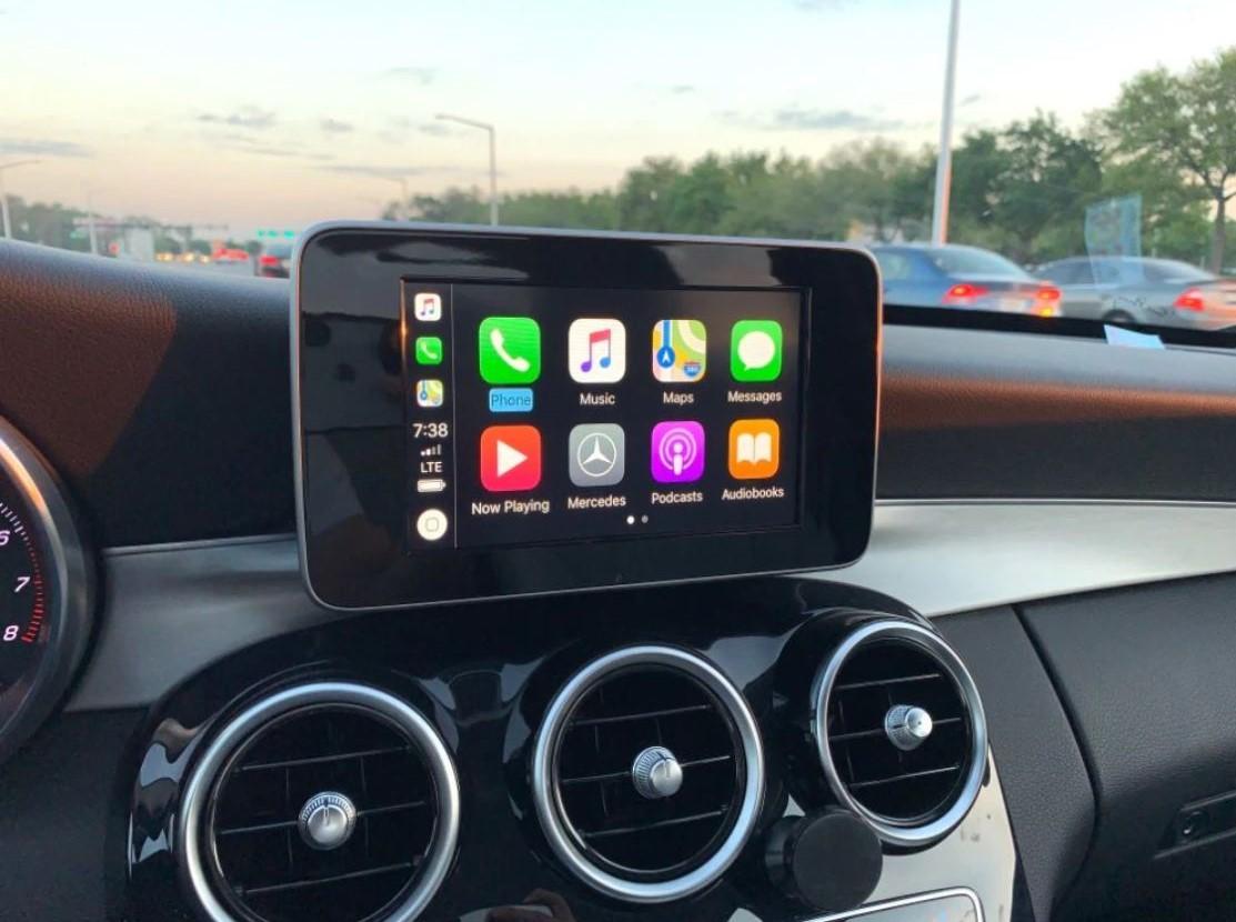 Mercedes C/GLC Class Wireless Apple CarPlay Retrofit Kit -  C(W205)/GLC(X253) NTG5