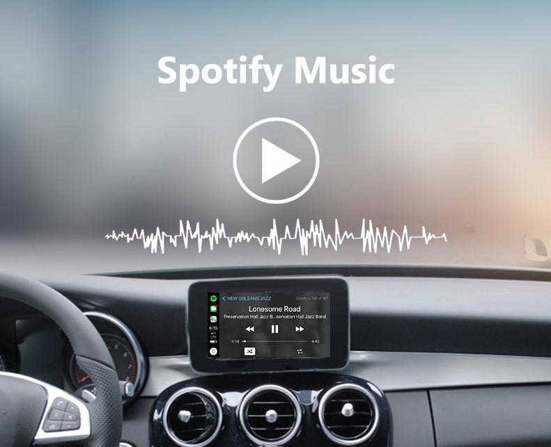 Mercedes Benz Apple Carplay Retrofit Kit ✓ The Mercedes Benz