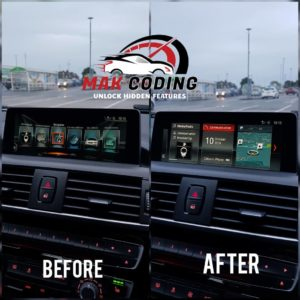 BMW NBTEVO iDrive 5 To iDrive 6 Lite Upgrade via USB