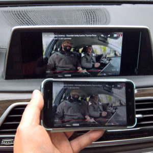 BMW NBTEVO iDrive 5/6 Android Screen Mirroring & Video In Motion Activation Coding