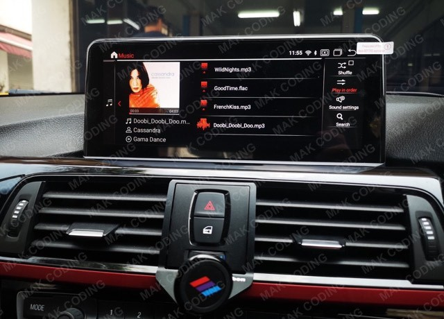 Playing Music on BMW Android System
