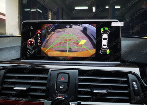 BMW Android Reverse Camera