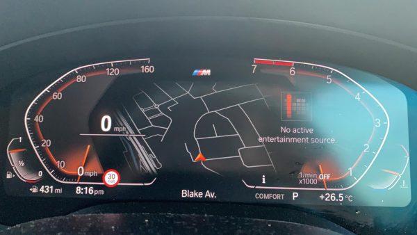 Speed Limit Info Signs G30 Live Cockpit MGU