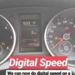 Digital Speed on Golf MK6 – Lowline Cluster