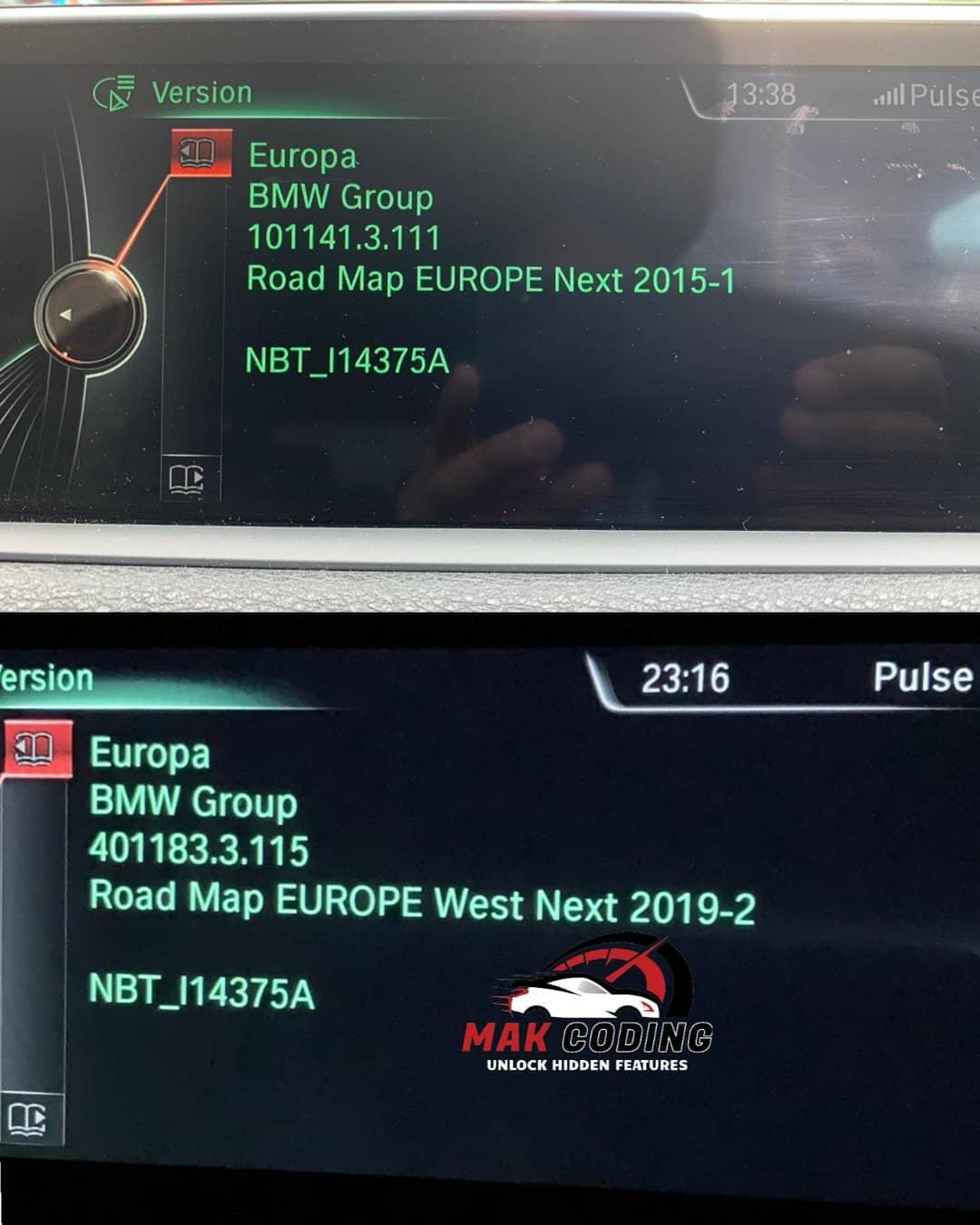 BMW X5 Maps Updated