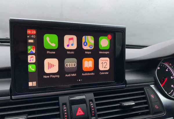 A6 Carplay Main Screen