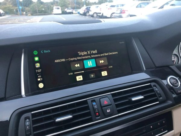 Music Carplay Screen