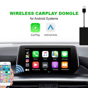 Wireless Apple Carplay & Wired Android Auto USB Dongle – Android Systems