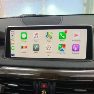 BMW X5 Series Carplay / Android Auto Retrofit Kit – F15 (2013 – 2016)