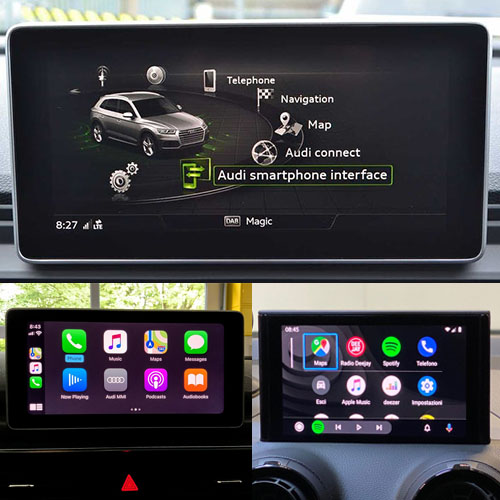 Audi Smartphone Interface Activation