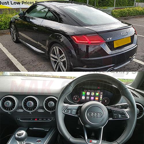 Audi-TT-MK3-Smartphone-Interface-Activation