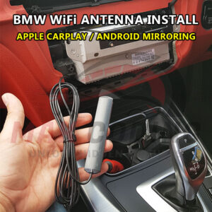 BMW NBTevo WiFi Antenna Supply + Fit Service in Bradford – Carplay / Android Mirroring