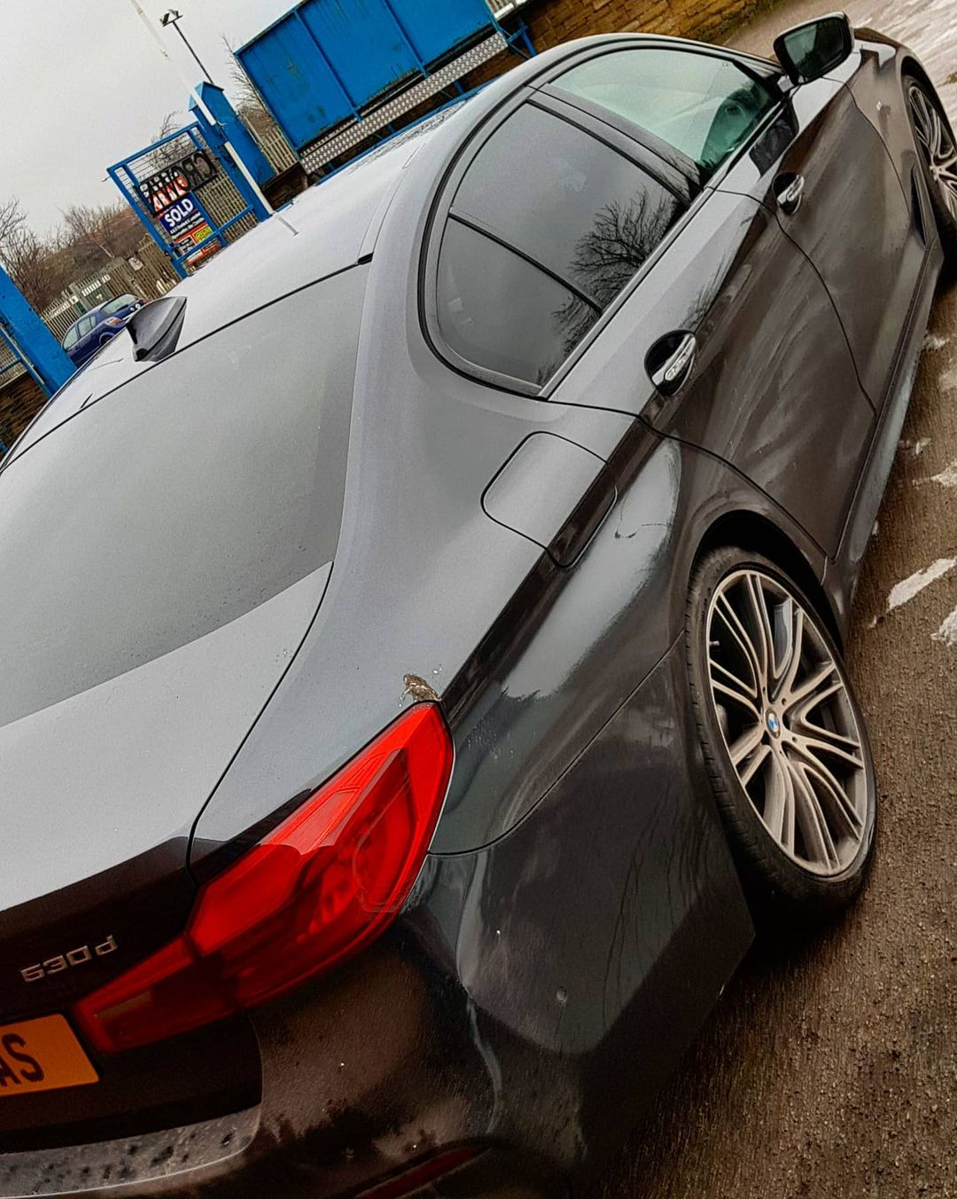 2017 BMW 5 Series G30 Fullscreen Carplay