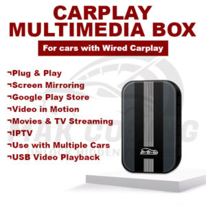 CarPlay Multimedia Box – Universal Entertainment Android YouTube Netflix